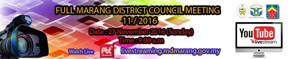live streaming November 2016- vBI